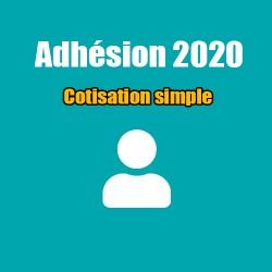 Adhésion 2020 - Cotisation simple