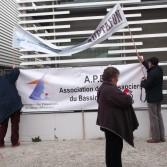Manifestation contre la taxe de mouillage