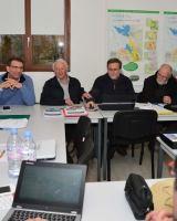 Première réunion de CA à notre cabane Coste Michelet