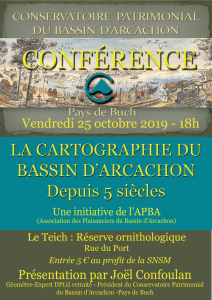 Affiche conférence Cartographie-APBA 2
