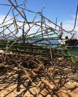 Travail de nettoyage d'Arguin et balisage 3 juillet 2020