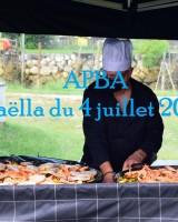 Paella APBA 2021 à la cabane